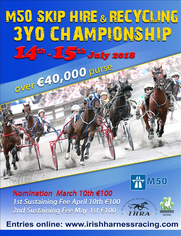 M50 Skip & Recycling  3yo Championship  Weekend
